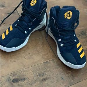Derrick Rose basketball sneakers